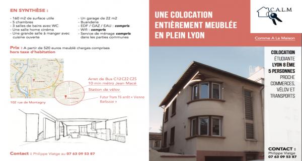 Colocations à Lyon